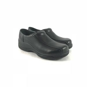 Dansko men's black shoes-never worn